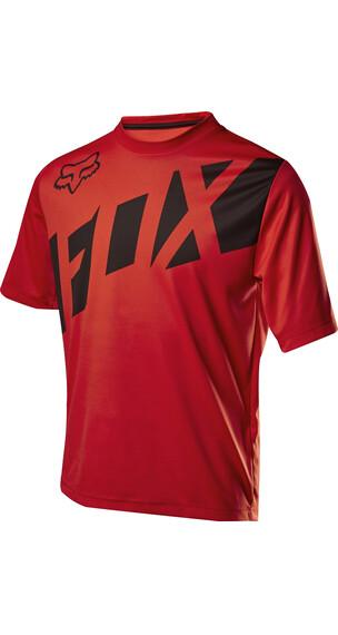 Fox Ranger Koszulka kolarska czerwony/czarny